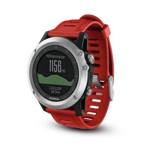 Fenix 3 GPS - Cardiofréquencemètre - Kit Performer rouge/argent GARMIN