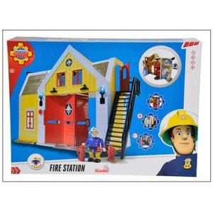Simba Toys 109251062 Sam le Pompier - Caserne de pompiers avec figurine SIMBA TOYS