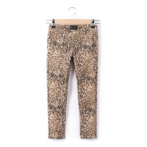 Pantalón slim con estampado leopardo niña 3-12 años R essentiel