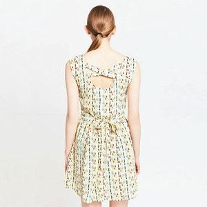 Ärmelloses Kleid, bedruckt MIGLE+ME