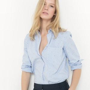 Camisa recta, algodón R essentiel