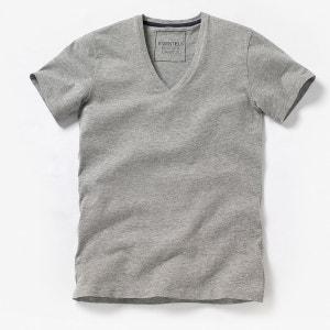 Tee shirt col V profond Oeko Tex La Redoute Collections