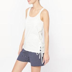 Pijama curto em algodão La Redoute Collections