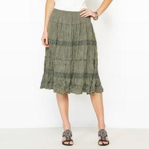 Crinkle Jersey Skirt ANNE WEYBURN
