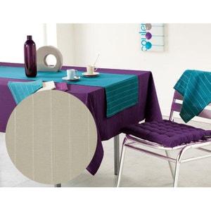nappe beige lin la redoute. Black Bedroom Furniture Sets. Home Design Ideas