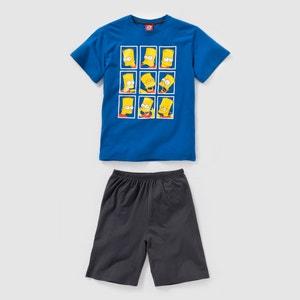 Pyjashort jersey SIMPSONS 10-16 ans SIMPSONS