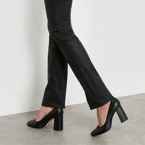 Proste spodnie z 5 kieszeniami, powlekane, bawełna ze streczem La Redoute Collections