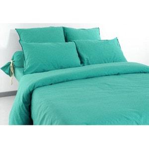 housse de couette bleu lagon la redoute. Black Bedroom Furniture Sets. Home Design Ideas