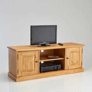 Meuble tv meuble tv design blanc d 39 angle la redoute for Meuble tv a peindre