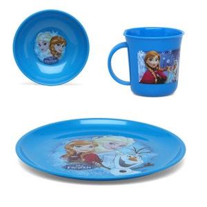 Reine des Neiges Frozen - kit 3 pieces Vaisselles Repas Enfants DISNEY