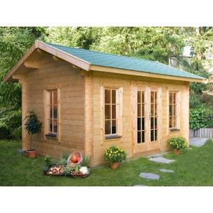Abri de jardin garage en solde la redoute for Cabanon de jardin en solde
