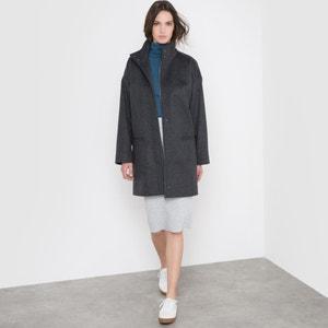50% Wool Loose-Fit Coat R essentiel