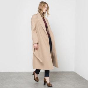 Długi płaszcz krój szlafrokowy R essentiel