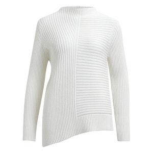 Trui in fijn tricot met ronde hals VILA