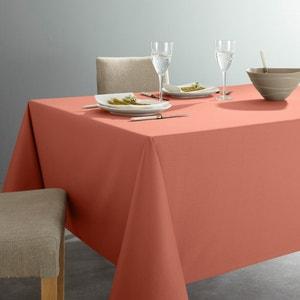 Effen tafellaken in keperstof van zuiver katoen, antivlekken behandeling SCENARIO