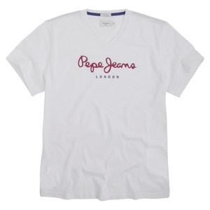 T-shirt met V-hals Eggo