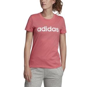 T-shirt met korte mouwen, ronde hals en logo