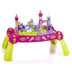 Megabloks : Table de constructions Play n'Go Petite princesse étincellante MEGA BLOKS