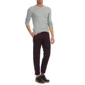 Pantalon Chino Slim Fit Stretch Ben Sherman Bordeaux BEN SHERMAN