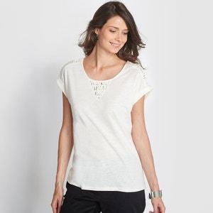 Camiseta, algodón flameado ANNE WEYBURN