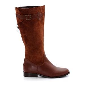 Dual Fabric Boots CASTALUNA