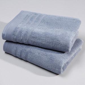 Pack of 2 Cotton Towels, 600g/m² La Redoute Interieurs