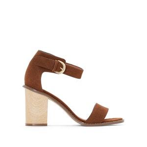 Sandales cuir détail bride R studio