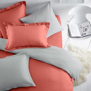 Funda de almohada bicolor de algodón SCENARIO