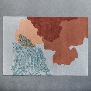 Getuft tapijt in zuiver wol KIMBIE, Studio Aoüt PETITE FRITURE