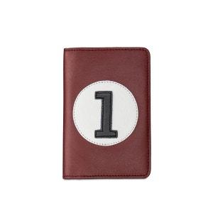 Portefeuille et porte monnaie bordeaux CBR1 ENTRE 2 RETROS