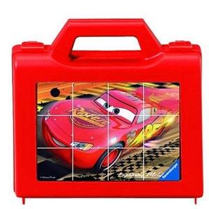 Puzzle 12 cubes : Cars 2 RAVENSBURGER