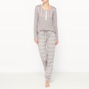 Pijama 2 peças estampado R édition