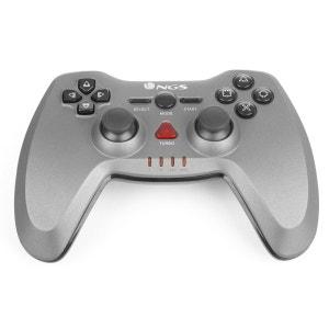 Manette de jeux sans fil pour PS3/PC 12 boutons, vibration NGS