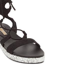 Platte sandalen S382C-11 BUFFALO