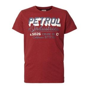 T-shirt met ronde hals en korte mouwen PETROL INDUSTRIES