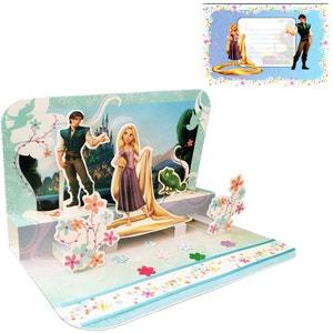 Carte 3D Disney - Raiponce TROPICO