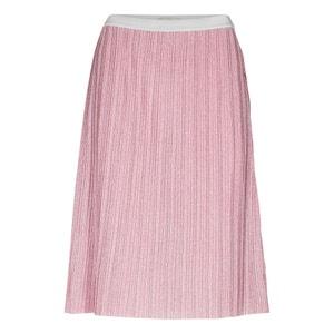 Metallic Look Pleated Skirt NUMPH