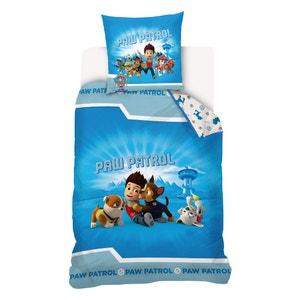 Set aus Bettbezug und Kissenbezug PAT PATROUILLE und FRIENDS, bedruckt, Baumwolle. PAT PATROUILLE