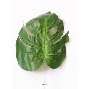 Feuille de Philodendron artificielle H 73 cm D 26 cm en tissu ARTIFICIELLES