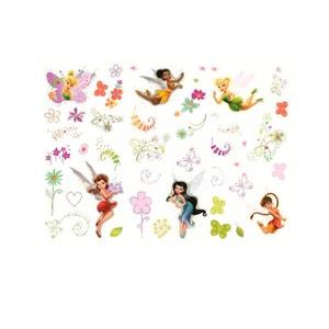 45 Stickers Fée Clochette repositionnable Disney fairies DECOFUN