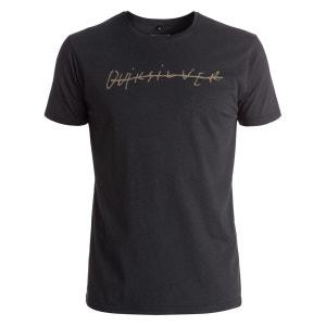 Tee Shirt MC Quik Signature Noir QUIKSILVER