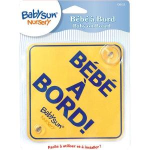 Panneau à ventouse 'Bébé à bord' - Babysun Nursery BABYSUN