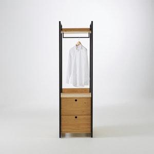 Módulo vestidor con 2 cajones de pino macizo tintado Hiba La Redoute Interieurs