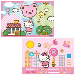Puzzle 2 x 12 pièces : Hello Kitty s'envole SANRIO
