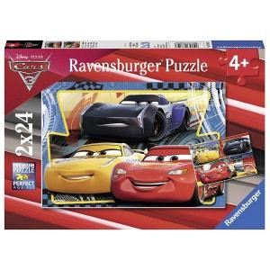 Cars 3 - Collection Puzzles 2 x 24 Pièces - Flash, Cruz et Jackson - RAV07810 RAVENSBURGER