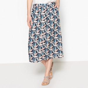 Macumba Printed Midi Skirt BLUNE