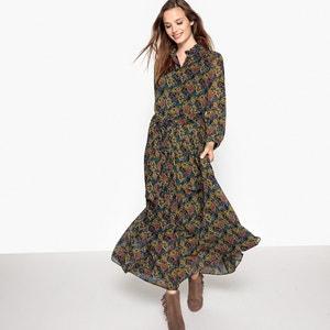 Halflange jurk met bloemenprint SEE U SOON