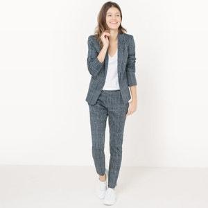 Pantaloni 7/8 a quadri R essentiel