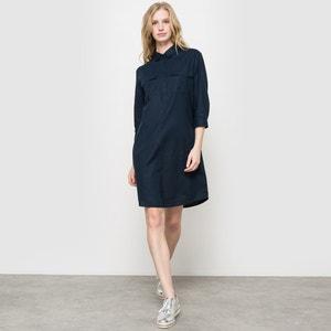 Robe saharienne lin/coton La Redoute Collections