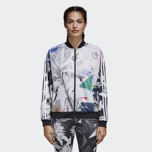 Bedruckte Oversized-Jacke mit Reissverschluss Adidas originals